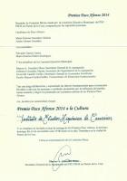 Premio Paco Afonso 2014